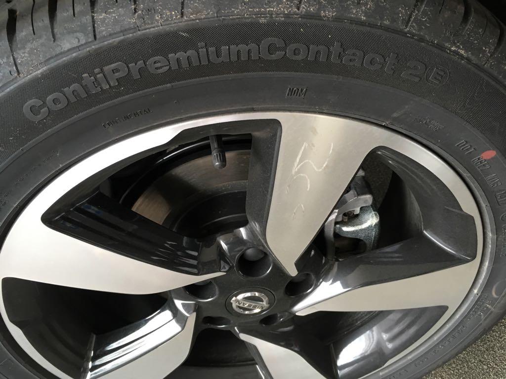 Achtung! Nach dem Reifenwechsel auch die Spur überprüfen